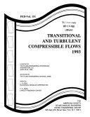 Transitional and Turbulent Compressible Flows, 1993