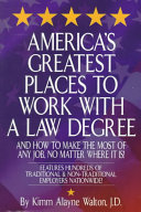 America s Greatest Places to Work with a Law Degree