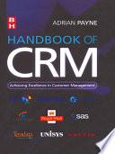 Handbook of CRM