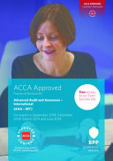 ACCA Advanced Audit and Assurance (International) Our Suite Of Study Tools Will Provide