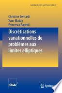illustration Discrétisations variationnelles de problèmes aux limites elliptiques