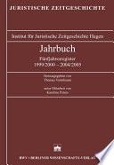 Jahrbuch der juristischen Zeitgeschichte