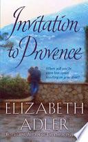 Book Invitation to Provence