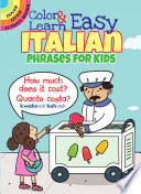 Color Learn Easy Italian Phrases For Kids