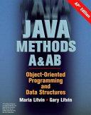Java Methods A AB