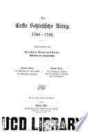 Die Kriege Friedrichs des Grossen