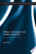 weber schumpeter and modern capitalism