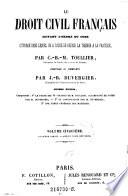 Le Droit Civil Fran Ais Suivant L Ordre Du Code