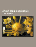 Comic Strips Started in The 1950s