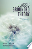 Classic Grounded Theory