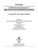 High Performance Distributed Computing