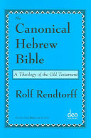 The canonical Hebrew Bible
