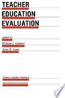 Teacher Education Evaluation