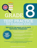 Barron s Core Focus  Grade 8 Test Practice for Common Core