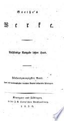 Goethe's Werke: Aus meinem Leben : Dichtung und Wahrheit