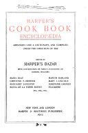 Harper's Cook Book Encyclopaedia