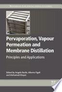 Pervaporation  Vapour Permeation and Membrane Distillation