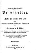 Guide épistolaire français-allemand