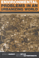Ebook Environmental Problems in an Urbanizing World Epub Jorge Enrique Hardoy Apps Read Mobile
