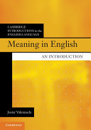 Meaning in English