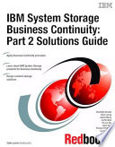 Ibm System Storage Business Continuity Part 2 Solutions Guide