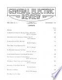 General Electric Review