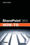 SharePoint 2013 How To