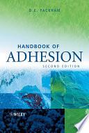 Handbook of Adhesion