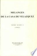 Mélanges de la Casa de Velázquez 18