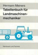 Tabellenbuch Landmaschinentechnik