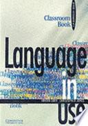 Language In Use Upper Intermediate Classroom Book book