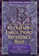 Bible New International Version U Thin Reference H Green T I book