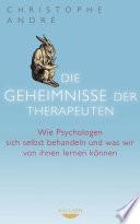 Die Geheimnisse der Therapeuten