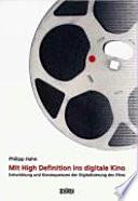 Mit High Definition ins digitale Kino