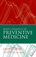 Rose s Strategy of Preventive Medicine