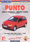 Fiat Punto Repair Manual And Service Guide