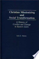 Christian Missionizing and Social Transformation