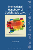 International Handbook of Social Media Laws