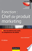 Fonction   chef de produit marketing   6e   d