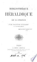 Bibliothèque héraldique de la France
