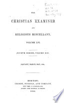 The Christian Examiner and Religious Miscellany Book PDF