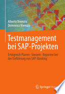 Testmanagement bei SAP Projekten