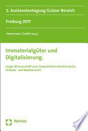 Immaterialgüter und Digitalisierung