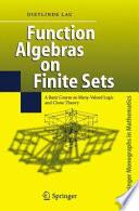 Function Algebras on Finite Sets