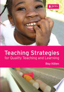Teaching Strategies for Quality Teaching and Learning