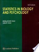 Statistics in Biology   Psychology
