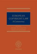 European Copyright Law