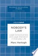 Nobody S Law