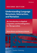 Understanding Language Structure Interaction And Variation book