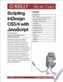 Scripting Indesign Cs3 4 With Javascript